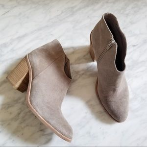 Jeffrey Campbell Lazslo Suede Ankle Booties